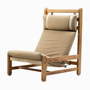 Scandinavian Architectural Sling Chair, 1960s