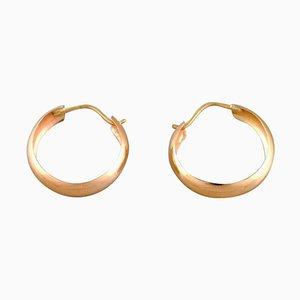Orecchini in oro a 18 carati, Scandinavia, set di 2