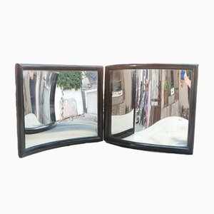 Curved Mirrors, 1900s, Set of 2