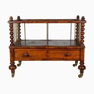 Italienische Wiege mit Schublade, 1800er