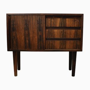 Small Danish Rosewood Sideboard, 1960s