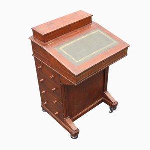Small Mahogany Davenport Desk, 1900s