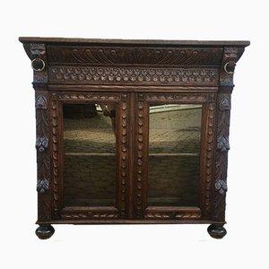 19th Century Solid Oak Cabinet