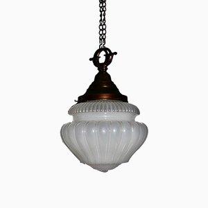 Lampe à Suspension Vaseline Art Nouveau