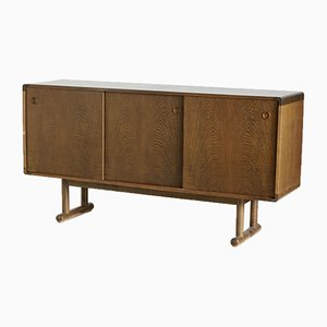 Vintage Danish Oak Sideboard, 1960s