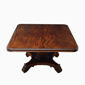 Large William IV Cuban Mahogany Dining Table