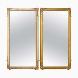19th Century Full Size Mirrors, Set of 2