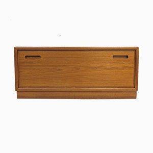 Vintage Danish Teak Lowboard TV Cabinet