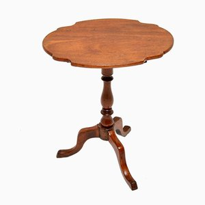 Antique Mahogany Tilt Top Side Table