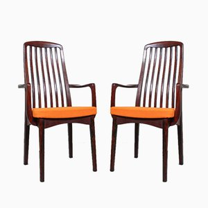 Vintage Rosewood Dining Chairs from Svegards, 1960s, Set of 6