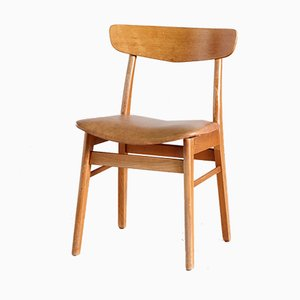Vintage Danish Teak Dining Chair from Findahl Møbler, 1960s
