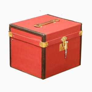 Red Hat Trunk with Key, 1920s