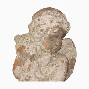 Antique Terracotta Sculpture of Noble Venice Residence