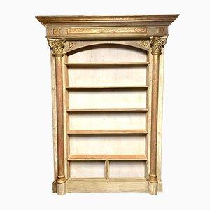 Antique Neoclassical Bookcase