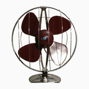 Mid-Century Fan in Steel and Bakelite from Elettrodomestici San Giorgio, 1960s