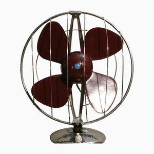 Mid-Century Fan in Steel and Bakelite from Elettrodomestici San Giorgio, 1960s