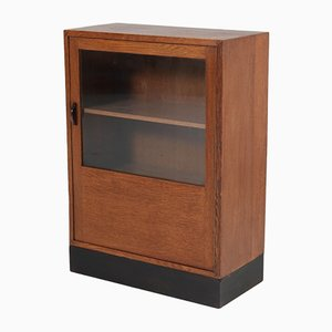 Art Deco Oak Hauge School Cabinet, 1920s