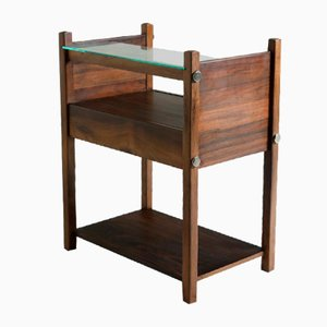 Mid-Century Modern Yara Nightstands by Sergio Rodrigues, Brazil, 1960s, Set of 2