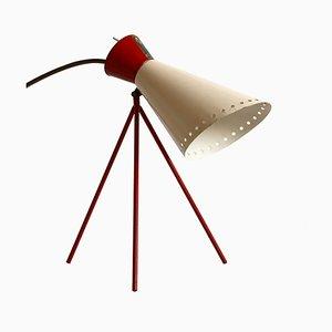 Lampe de Bureau Modèle 1618 Mid-Century par Josef Hurka pour Napako, Tchécoslovaquie, 1950s