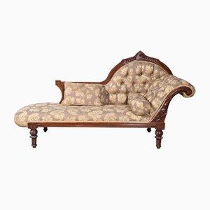 Victorian Mahogany Chaise Longue