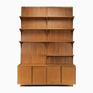 Danish Teak Shelf System by Poul Cadovius for Cado, 1960s, Set of 11