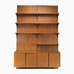Danish Teak Shelf System by Poul Cadovius for Cado, 1960s, Set of 11