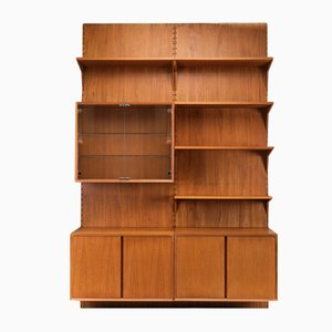 Danish Teak Shelf System by Poul Cadovius for Cado, 1960s, Set of 10