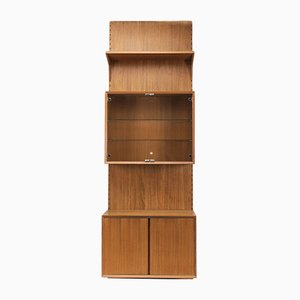 Danish Teak Shelf System by Poul Cadovius for Cado, 1960s, Set of 4