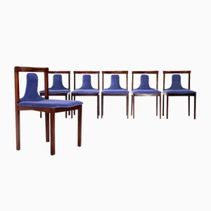 Dining Chairs by Claudio Salocchi for Luigi Sormani, 1960s, Set of 6