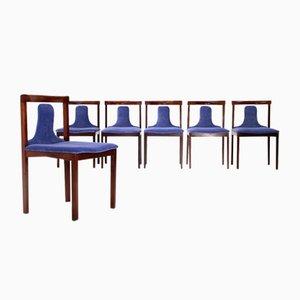Esszimmerstühle von Claudio Salocchi für Luigi Sormani, 1960er, 6er Set