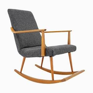 Mid-Century Scandinavian Rocking Chair, Denmark, 1968