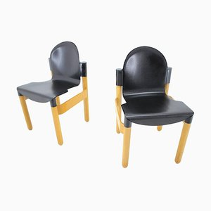 Mid-Century Flex Chairs by Gerd Lange for Thonet, Germany, 1973, Set of 2