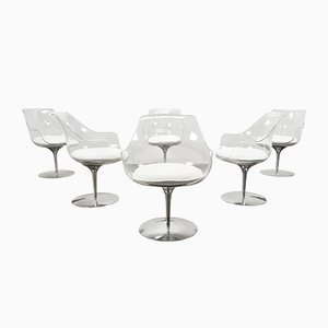 Champagne Chairs by Irvine & Estelle Laverne, 1960s, Set of 6