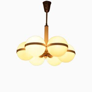 Lámpara de araña austriaca Mid-Century
