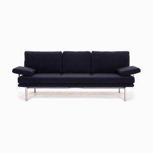Dark Blue Living Platform Fabric Function Sofa by EOOS Design for Walter Knoll