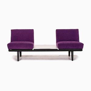 Canapé 2 Places en Tissu Violet de Herman Miller