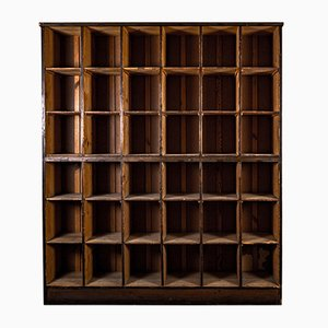 Archive Shelf Bookcase Cabinet, 1920s