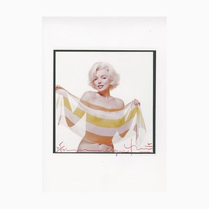 Marilyn in the Slanted Scarf by Bert Stern, 2012