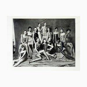 Mannequins Versace Campaign by Sante d'Orazio, 1990