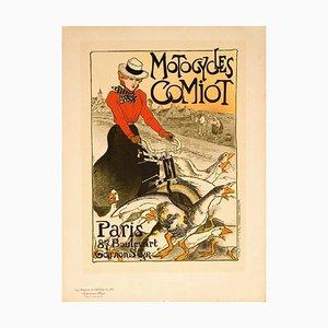 Motos Comiot de Les Maîtres de L'Affiche par Théophile Alexandre, 1899