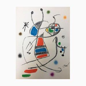 Maravillas con Variaciones Acrosticas 7 par Joan Miró, 1975