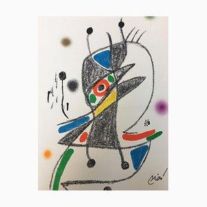 Maravillas con Variaciones Acrosticas 5 by by Joan Miró, 1975