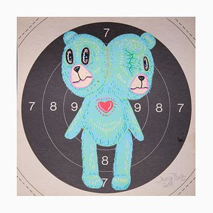 Two Heads in Target by Jessica Pliez, 2018