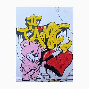 I Love You Pink von Shadee K, 2017