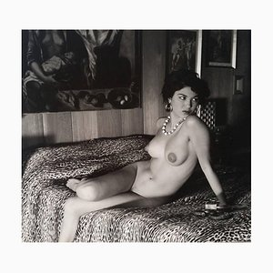 Akt auf dem Bett von Andre de Dienes, 1960