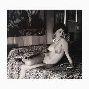 Desnudo en la cama de Andre de Dienes, 1960