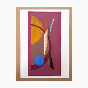 D1 Composition Geometrique Lithograph by César Domela, 2016
