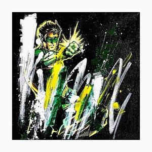 When Black Lantern Seem to be Green by Vero Cristalli, 2017
