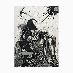 Sigismond Enchained par Salvador Dali, 1975