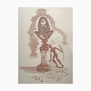 The Writer's Caprice RS par Salvador Dali, 1975